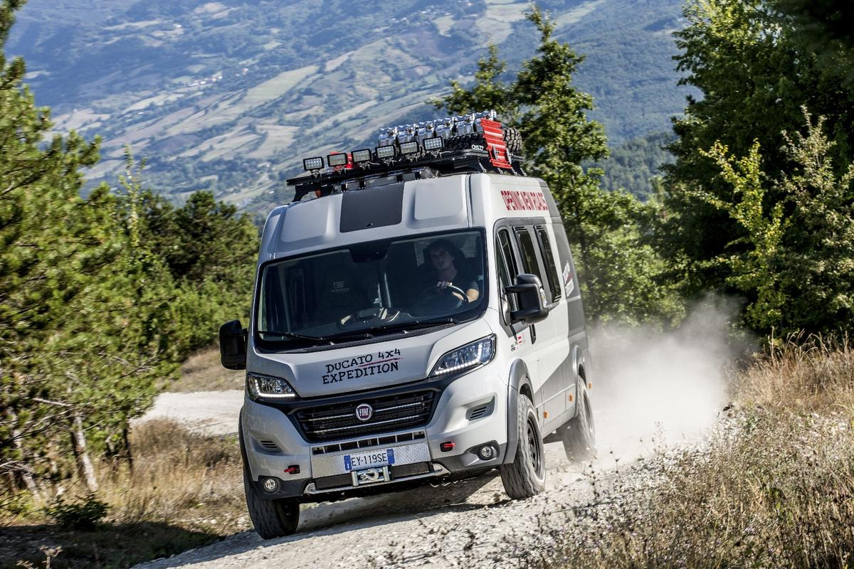 With help from several partners, the Fiat Ducato is ready to camp deep off grid