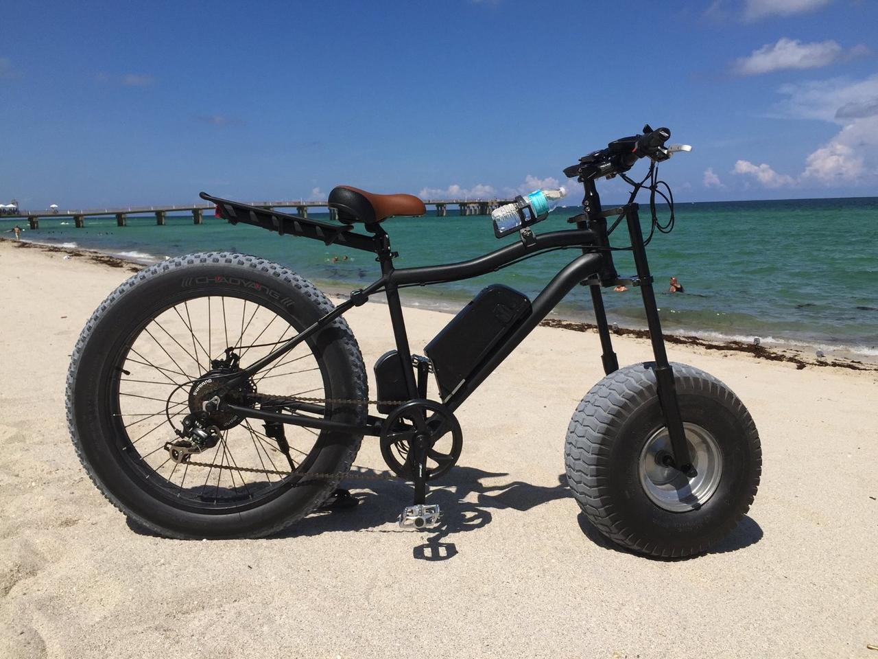 The weight of the Xterrain500 production model has yet to be established