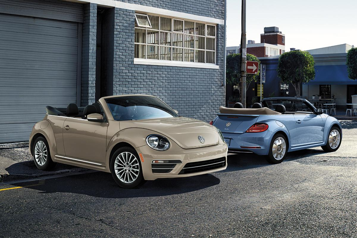 "For the Final Edition offerings, the Beetle will look back to its last ""final hurrah"" in 2003 when it was temporarily discontinued in the ""Ultima Edicion"""