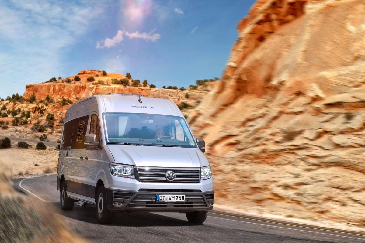 Westfalia transforms the new VWCrafter into the Sven Hedin camper