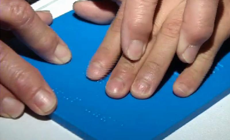 Scientists have created tactile versions of Hubble images for the visually impaired
