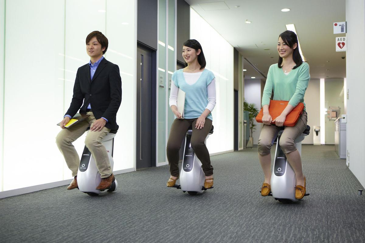 Honda's UNI-CUB Personal Mobility Device