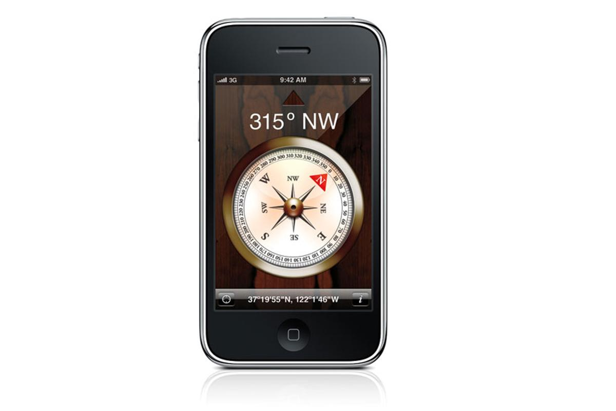 The magnetic gesture software MagiTact could work on all smartphones with a compass sensor, such as the Apple iPhone