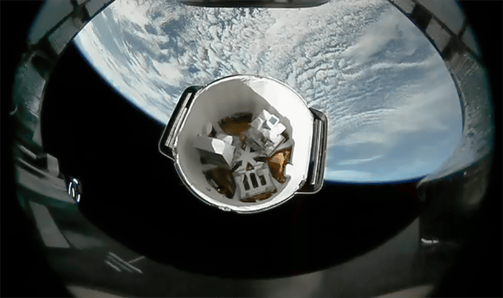SpaceX resupplies the ISS with recycled rocket and ...