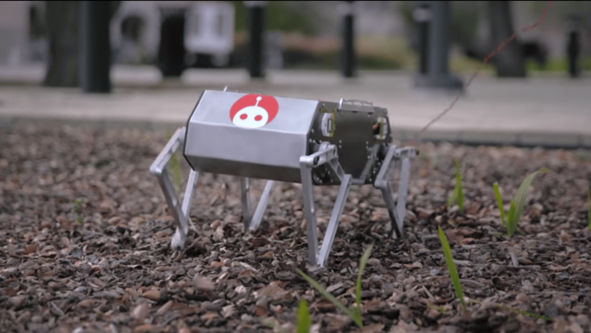 Stanford's robotic Doggo can perform backflips