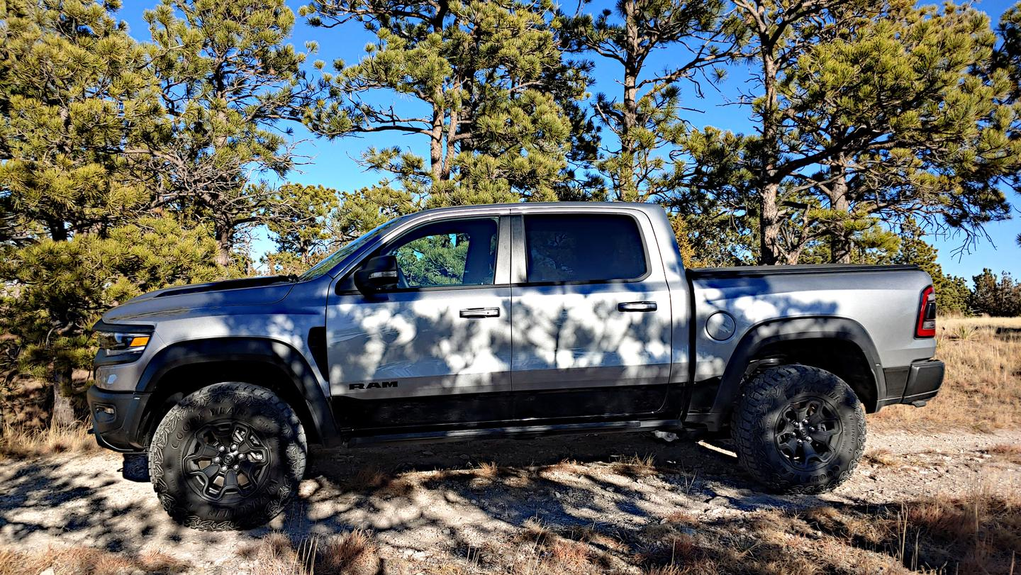 The aim of the Ram 1500 TRX is clear: put the Ford Raptor in its place