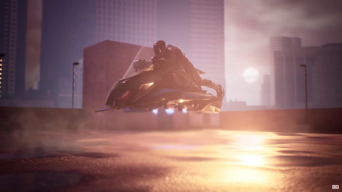 The Speeder flying motorcycle: Jetpack Aviation'slatest project