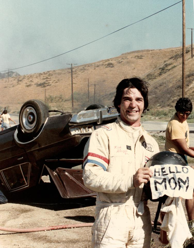Decades as a professional stuntman have seen Braun upside down in exploding cars many times