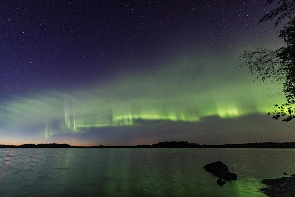 The dune-like aurora newly discovered in Finland