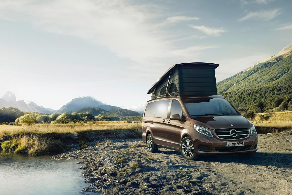 The new V-Class Marco Polo is built for travel and exploration