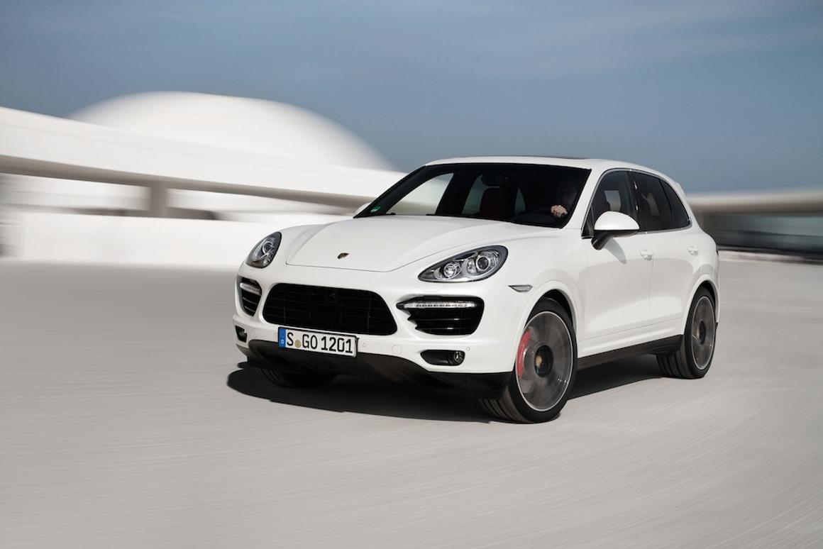 A 4.8 liter, twin-turbo V8 engine powers the Cayenne Turbo S from 0 - 60 mph (96.5 km/h) in 4.3 seconds, with a top speed of 175 mph (281 km/h)