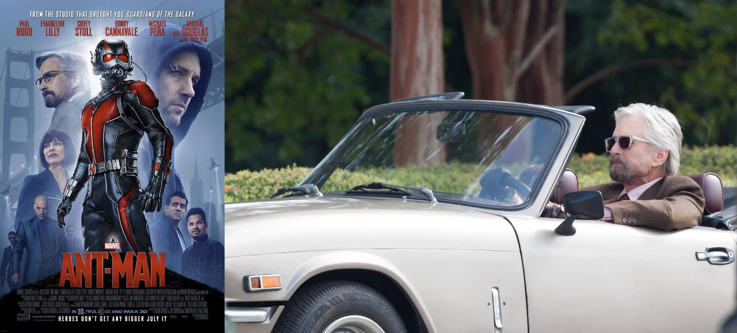 40 -Hank Pym's Triumph Spitfire from Ant-Man