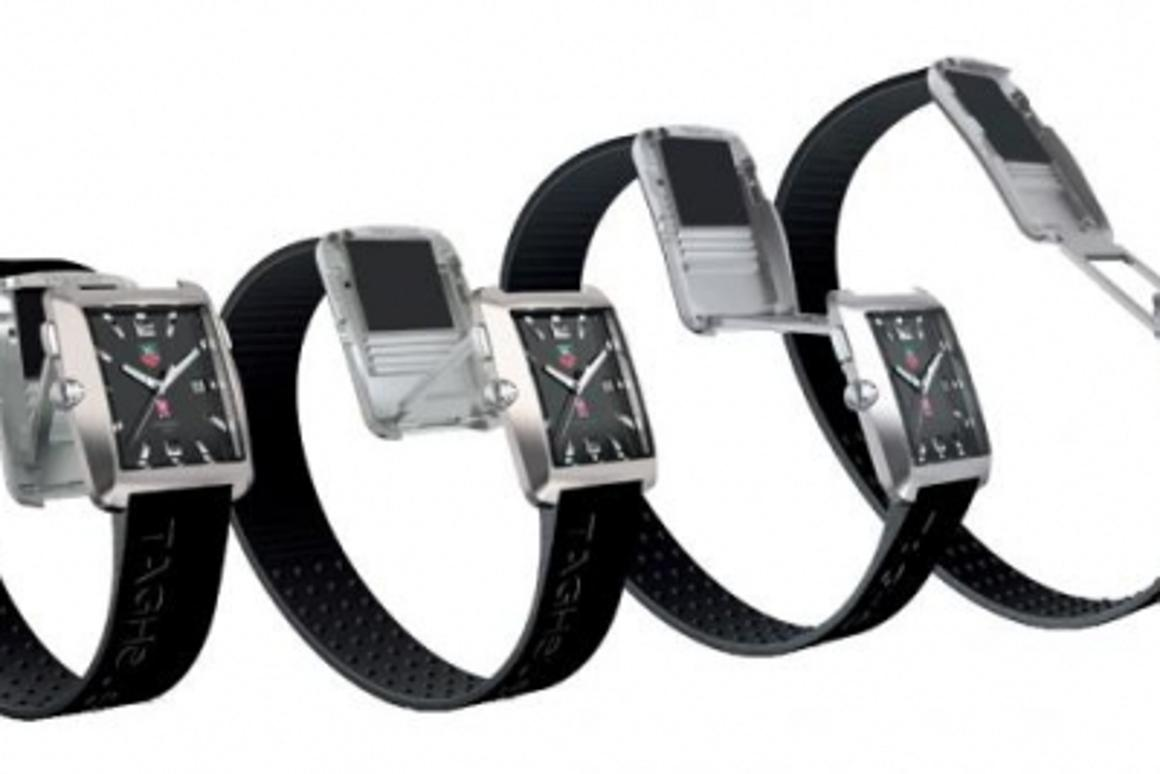 The Tag Heuer Tiger Woods Professional Golf Watch