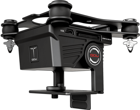 The most interesting aspect of the Universal Flying Platform lineup is an ILDC (interchangeable-lens digital camera) DSLR and mirrorless universal gimbal