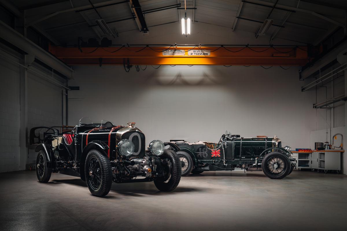 "The master copy of Bentley's new, old Blower has been built and driven, a painstakingly accurate replica of the Team Blower originally built and raced by Sir Henry ""Tim"" Birkin in the late 1920s"