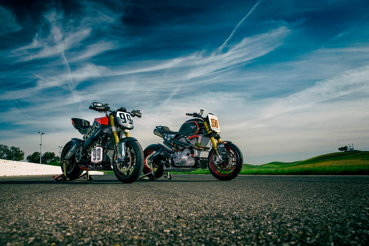 Victory won the two classes it contested and occupiedthe two runner-up spots of the general motorcycle classification
