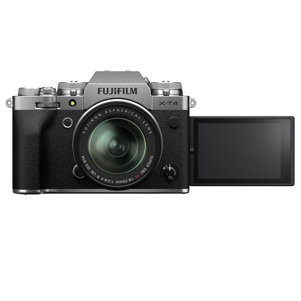 The Windows software will allow you to use your Fujifilm mirrorless camera - like the X-T4 shown above - as a high quality webcam