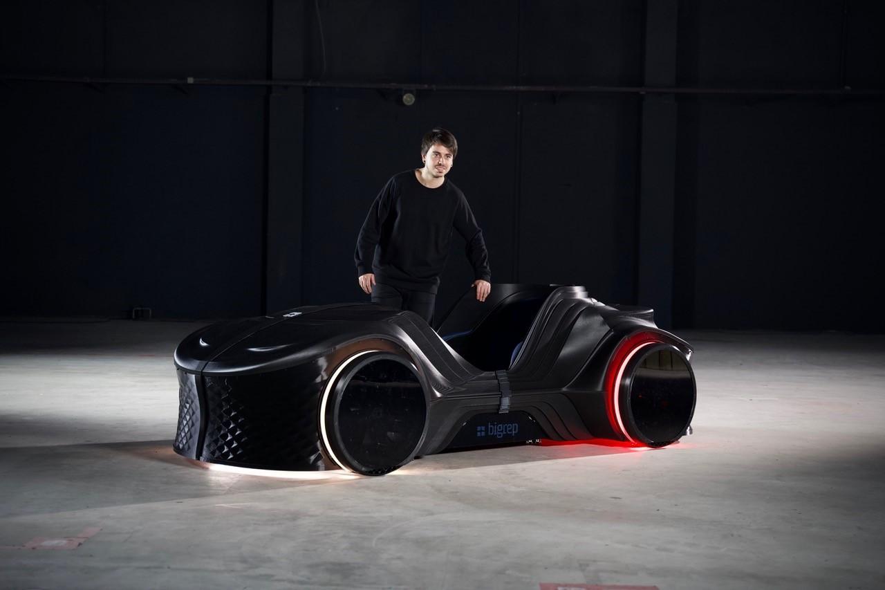 BigRep's Loci prototype was 3D-printed using the company's Pro, Studio G2 and One machines