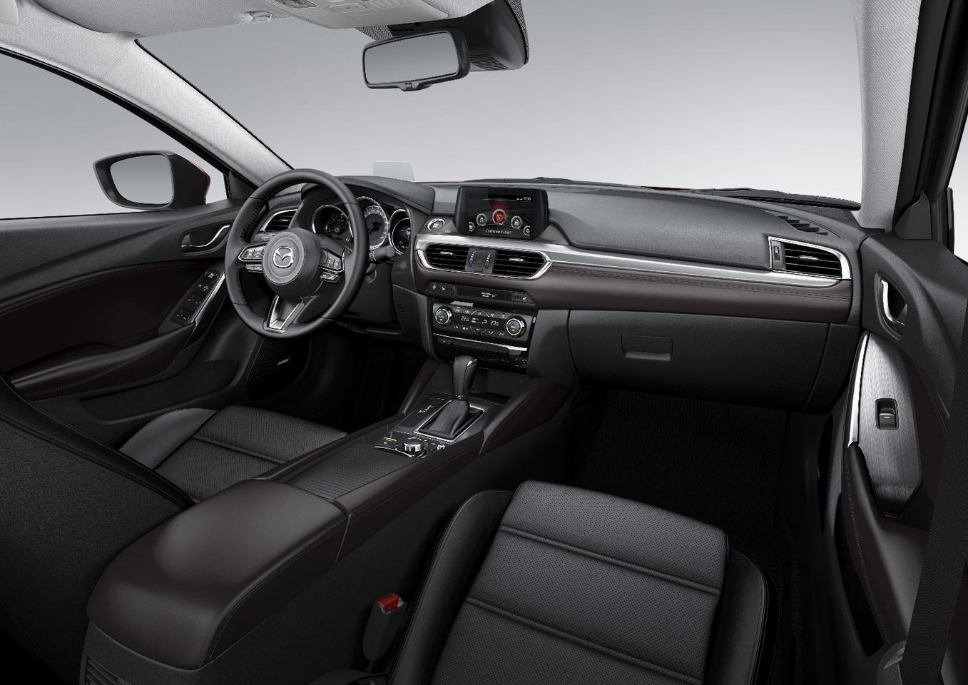 It should be refined and smooth in here thanks to Mazda's refreshments