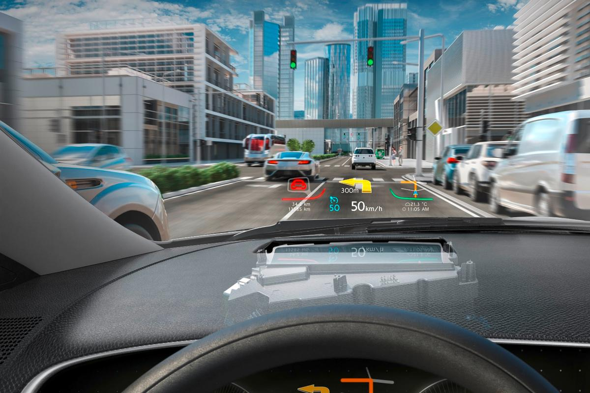 Continental's head-up display with digital micromirror device technology made its first appearance in, appropriately enough, the 2017 Lincoln Continental, followed by the 2018 Lincoln Navigator