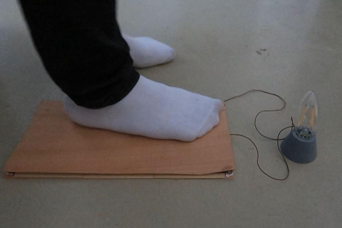 A new form of energy-harvesting wooden flooring can generate enough power for small electronics through footsteps
