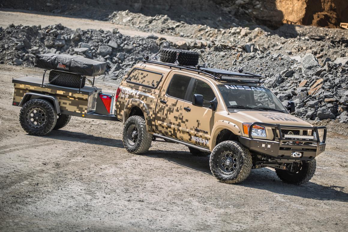 Nissan creates a rugged, Alaska-ready Titan Crew Cab camping