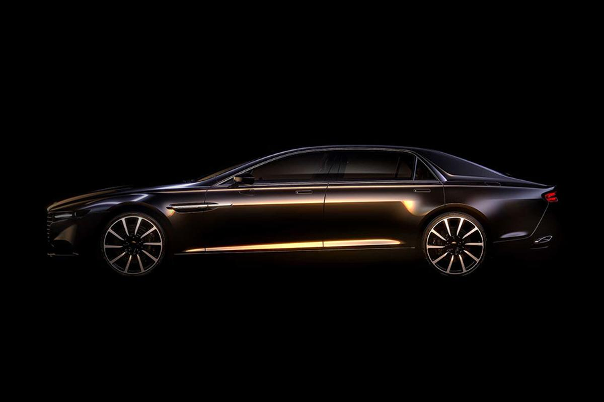 The new Aston Martin super saloon will be an extremely limited series