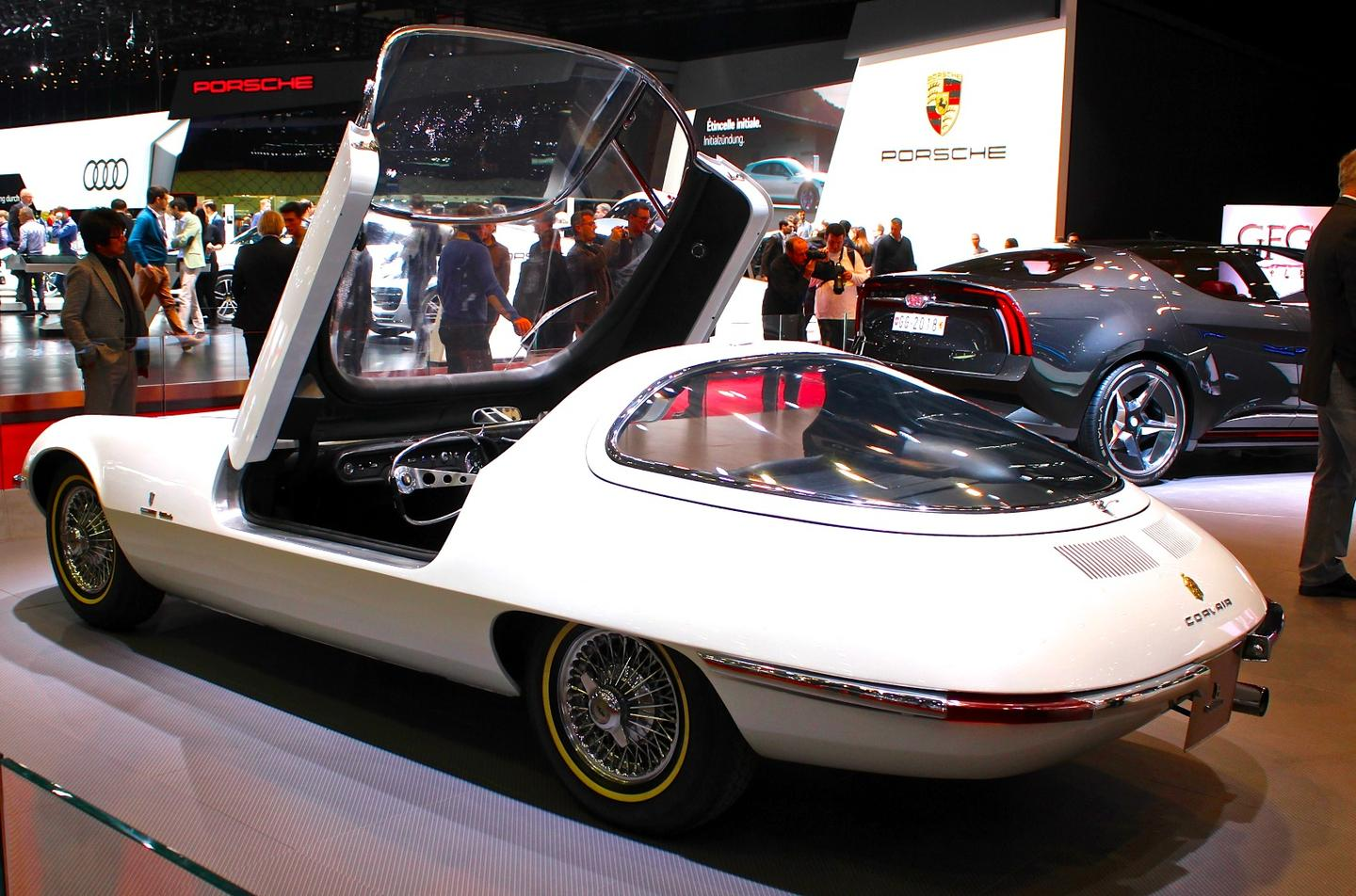 The design for this 1963 Chevrolet Corvair Testudio Bertone was one of Giorgetto Giugiaro's first works