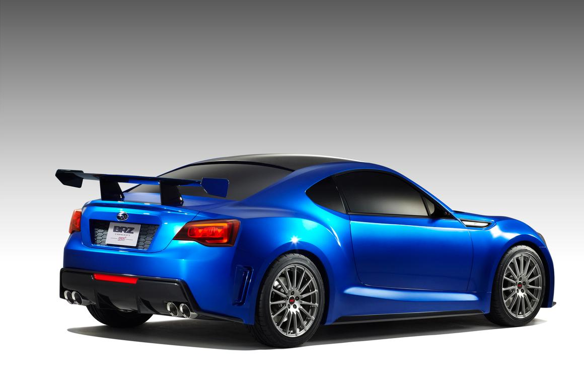 The BRZ Concept is expected to have exceptional driving dynamics
