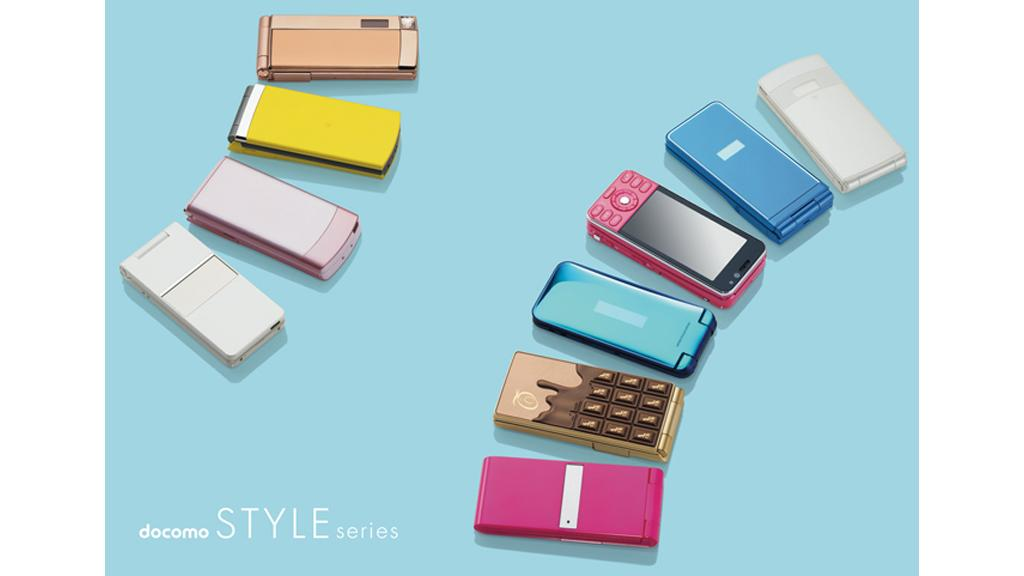 NTT DoCoMo's new STYLE series mobile phones