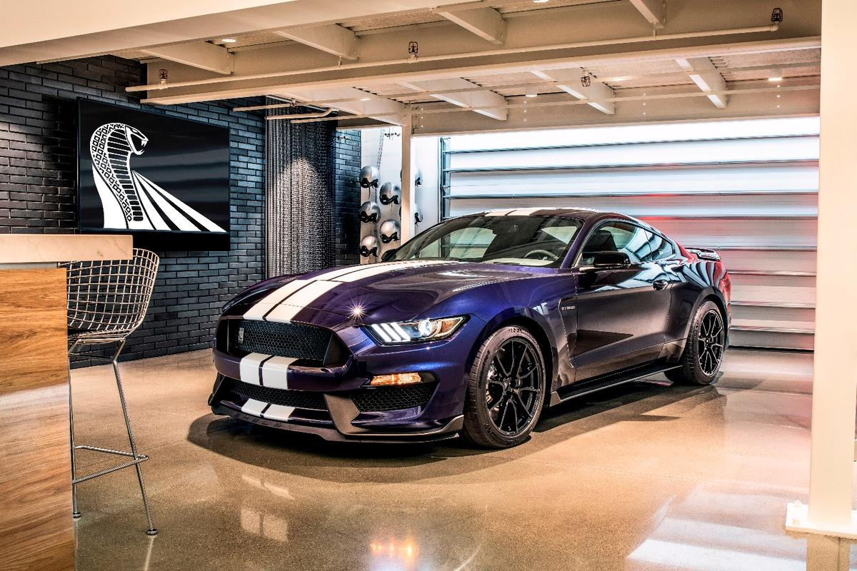 """Somewhere, Carroll is smiling,"" said Ford Performance about the new 2019 Shelby GT350"