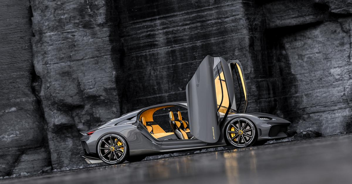 Koenigsegg Gemera is a 4-seat, shift-free hyper-hybrid for the family