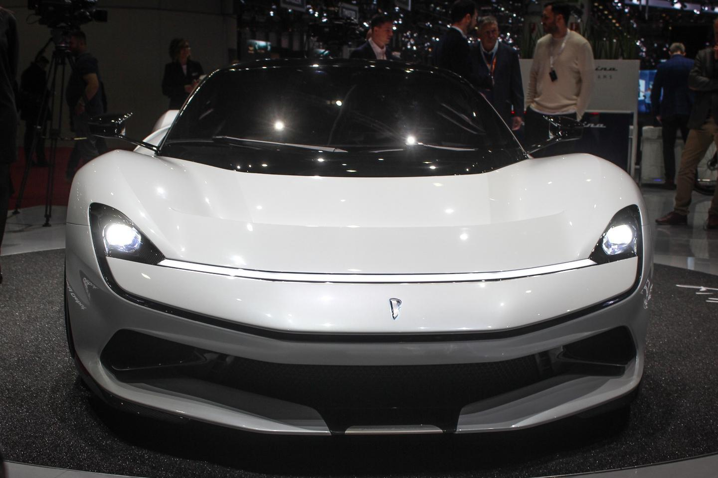 After much hype and anticipation, the Pininfarina Battista makes its world debut