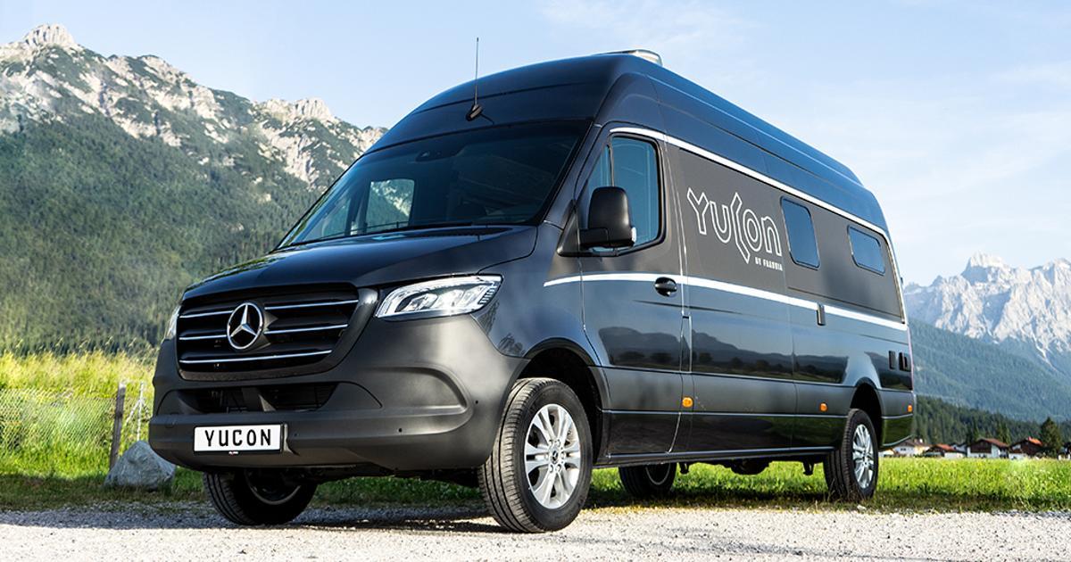 Mercedes camper van blows van life open with spacious, motorhome-style interior
