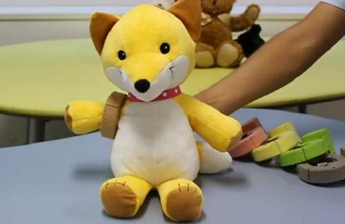 The PINOKY ring animates your plush toy's limbs (Photo: JST ERATO)