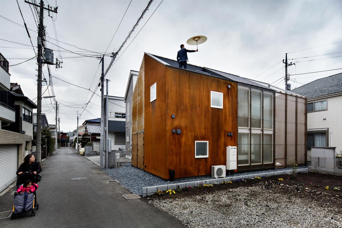 The Transustainable House, by Japanese architecture firm Sugawaradaisuke (Photo: Jérémie Souteyrat)