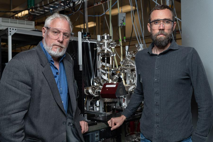 Thomas Orlando and Brant Jones, researchers on the new study