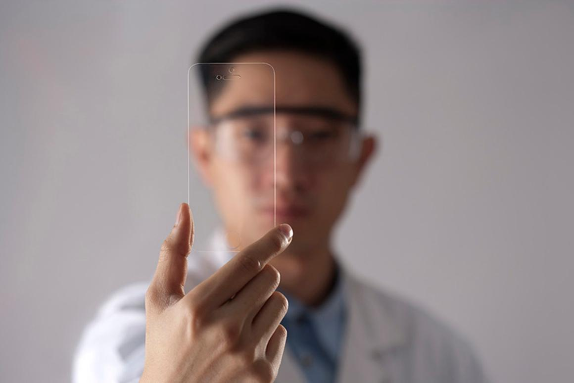 Rhino Shield adds a layer (several layers, actually) of protection to mobile device screens