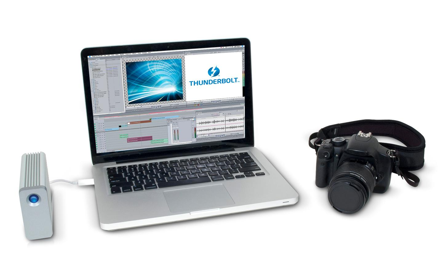 The LaCie Little Big Disk Thunderbolt Series SSD is aimed at professional photographers and videographers