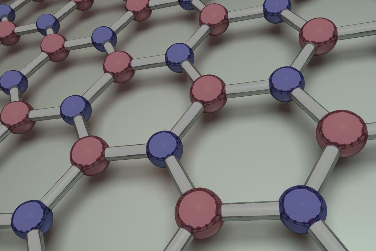 "Monolayer-thick sheets of hexagonal boron nitride, aka ""white graphene,"" could be the perfect ultra-thin partner for graphene"