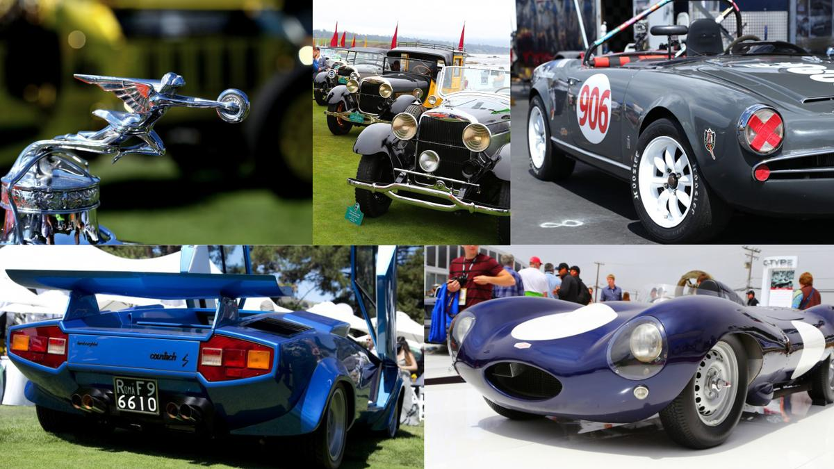 Gizmag's selection of the best automotive eye-candy from Monterey Car Week