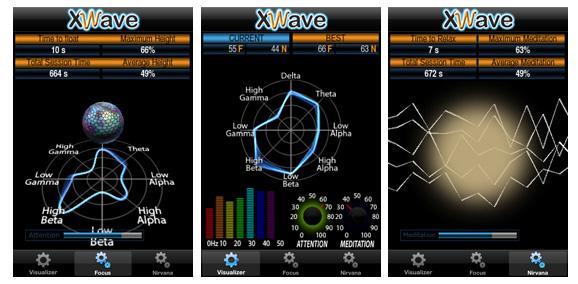 The XWave app