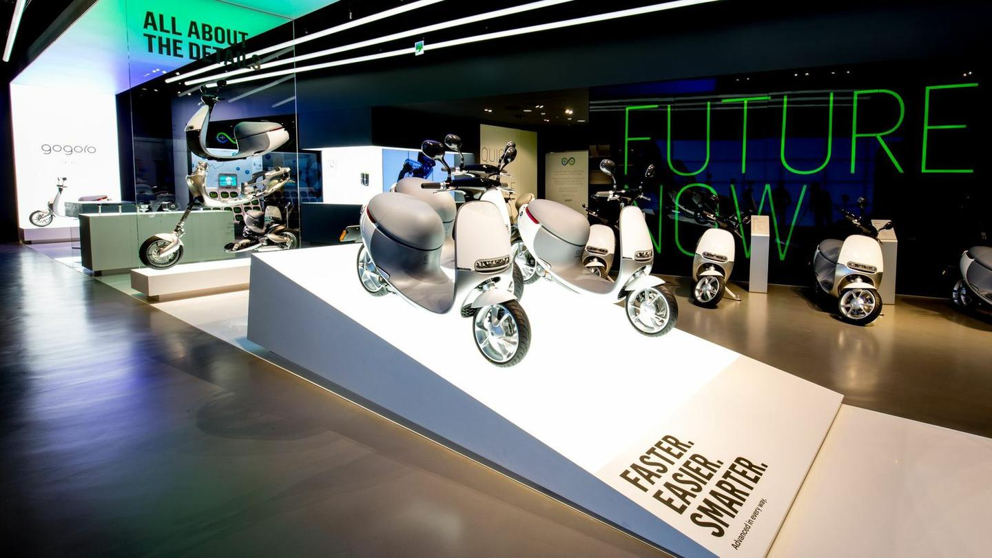 The Gogoro Smartscooter is impressive in itself