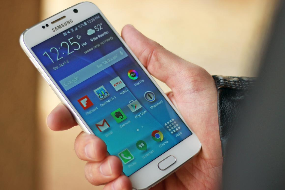 Gizmag reviews the best smartphone we've used (for now), the Samsung Galaxy S6 (Photo: Will Shanklin/Gizmag.com)