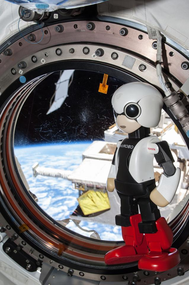 Kirobo is designed to test robot/human interactions in space