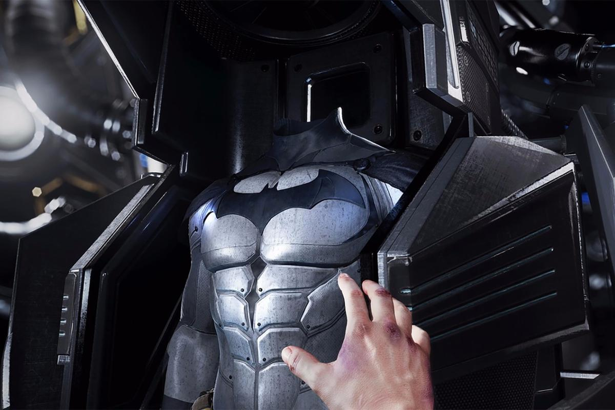 Starting today, you can battle as Batman in PC-basedvirtual reality