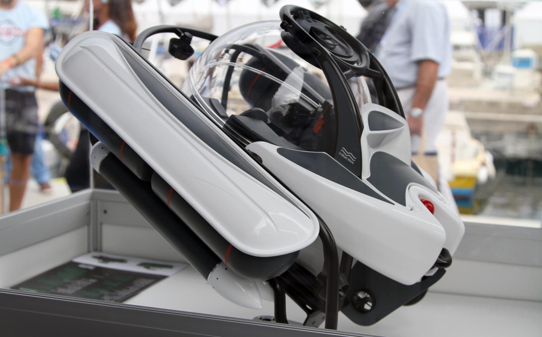 The final design for the C-Explorer 3 revealed in Monaco (Photo: Gizmag)