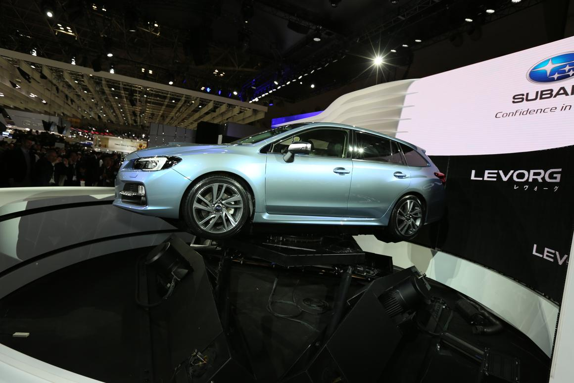 The Subaru Levorg is intended to combine practicality and sports car handling