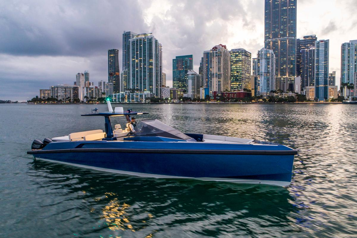 Wally 48 X tender in Miami