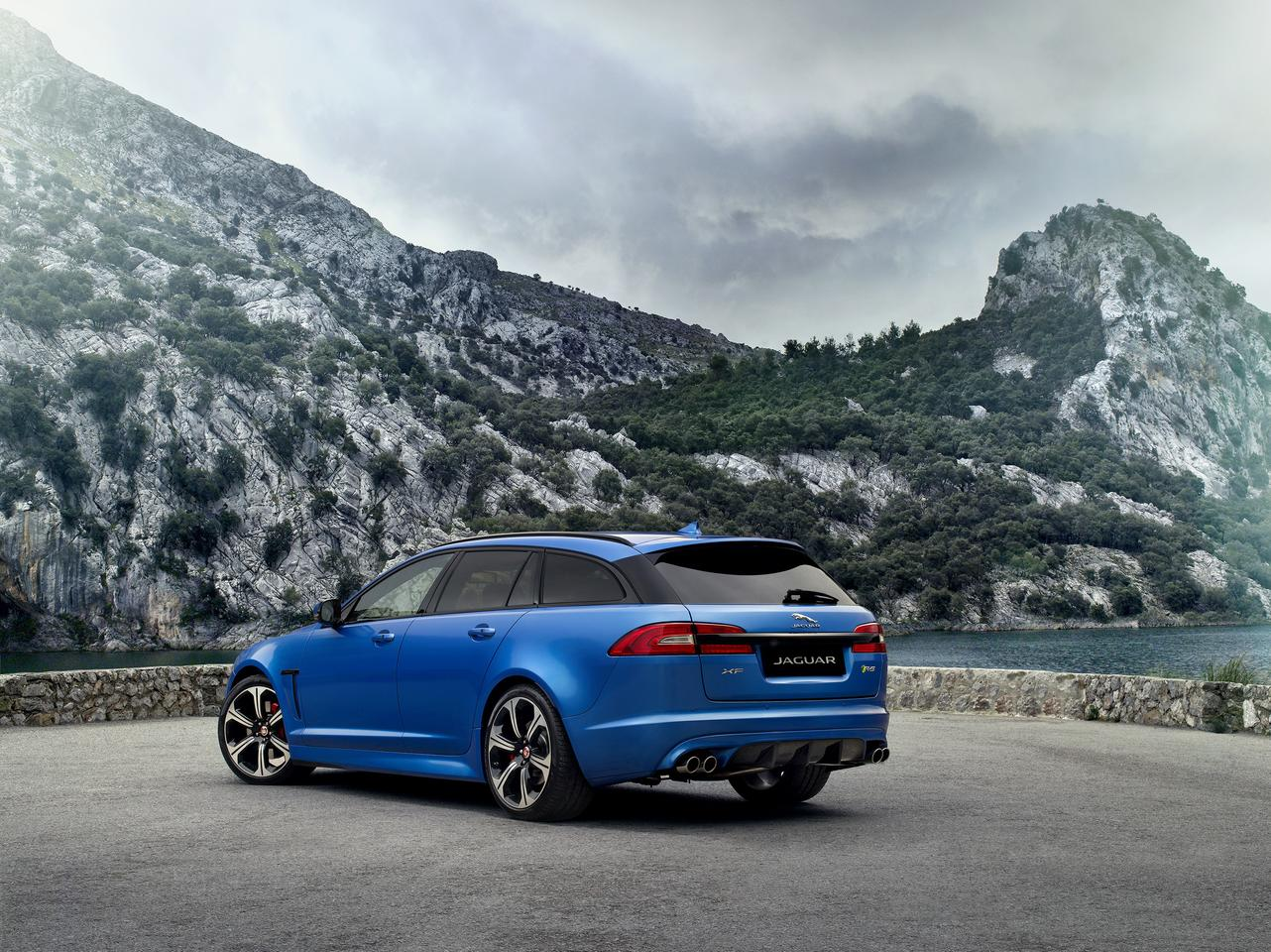 The Jaguar XFR-S Sportbrake's supercharged V8 produces a 0-60mph time of 4.6 seconds, just 0.2 seconds slower than the much-lighter XFR-S Saloon